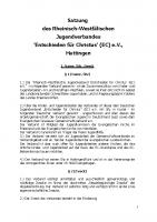 Satzung (Stand 2016)