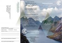 Flyer Sommerfreizeit Norwegen 2020
